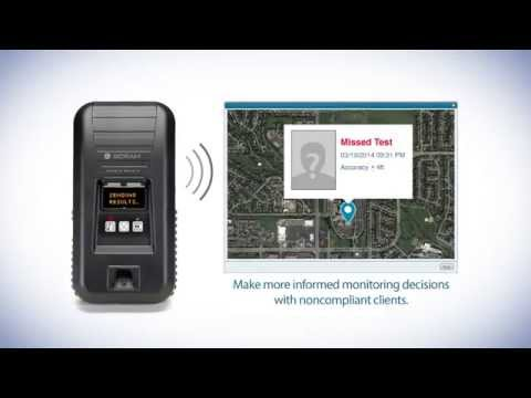 Scram remote breath® - gps with every type of test