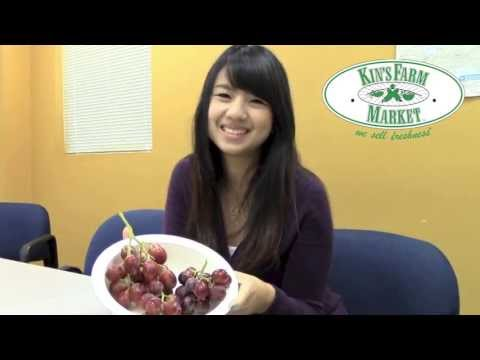 Kin's premium grapes: red seedless variety