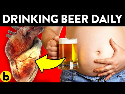 Drinking beer every day does this to your body