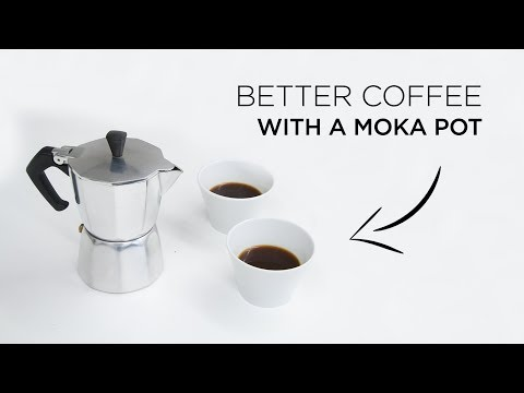 How to make better coffee with a moka pot