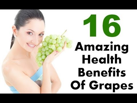 16 health benefits of grapes || how much fiber do grapes have