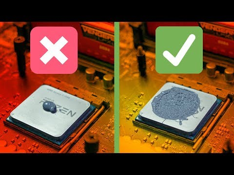 How to remove thermal paste from cpu & how to apply new thermal grease