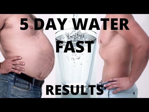 5 day water fast | no food for this dude | 120 hours fasting results