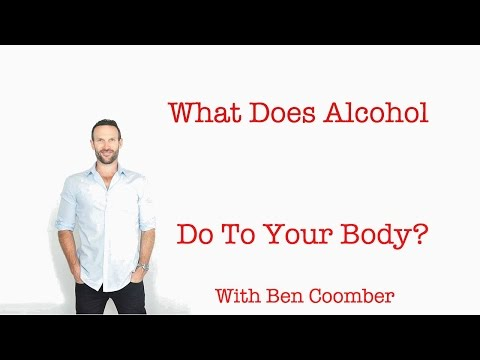 What does alcohol do to your body? with ben coomber.