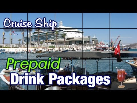 All you can drink package cruise ship package - drinking packages on cruise ships