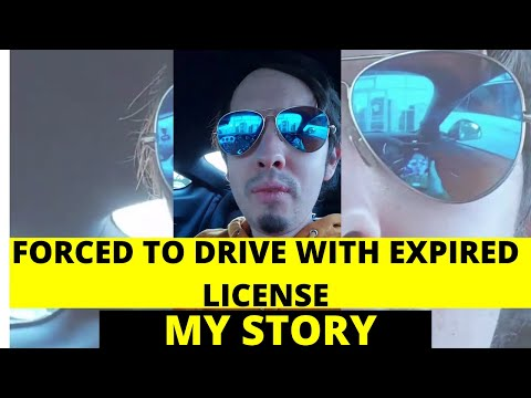 Legally driving with expired license in covid-19 corona (friday)