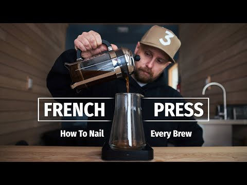 How to make the ultimate french press coffee at home - a delicious brewing tutorial