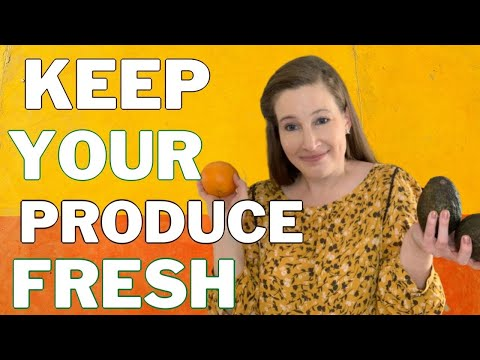 This is how you store fresh fruits and veggies
