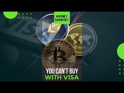 Visa says you can buy almost anything, except crypto currencies #shorts