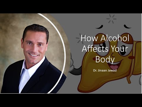 How alcohol affects your body?