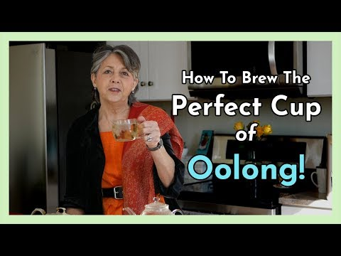How to brew a perfect cup of oolong tea!