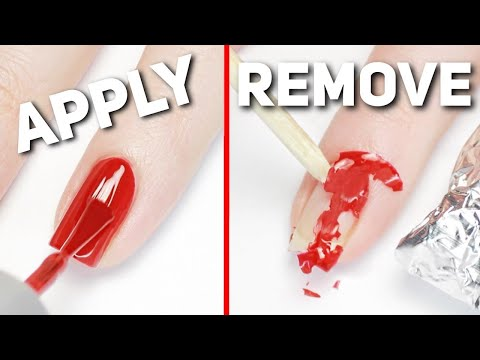 How to remove nail polish - 9 simple tips to clean nail polish easily