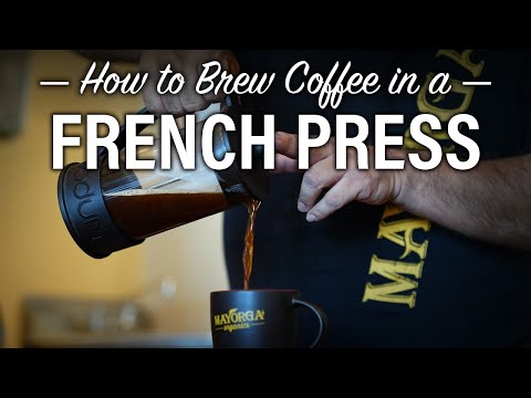 How to brew french press coffee   step by step