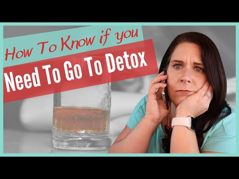 When is medical detox for alcohol necessary?