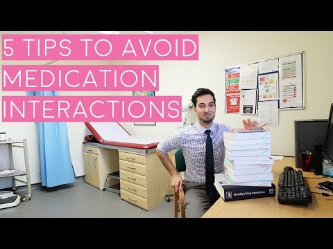 Drug interactions | 5 tips you should do to avoid them