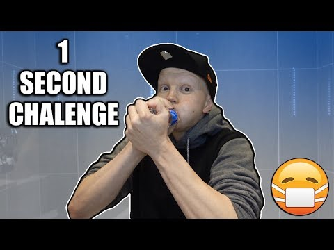 How to drink a water bottle in under 1 second challenge
