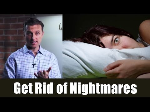 How to stop nightmares with nutrition | dr.berg