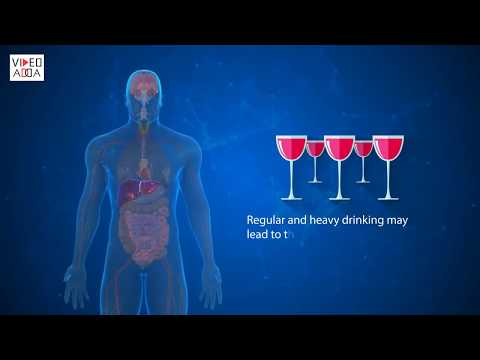 Effects of alcohol on liver
