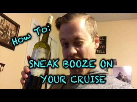Easily sneak alcohol on a cruise 2019
