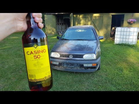 Can you run a car on alcohol (casino edition 50% alcohol content)
