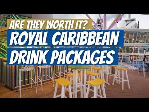 Are royal caribbean drink packages worth it in 2021?