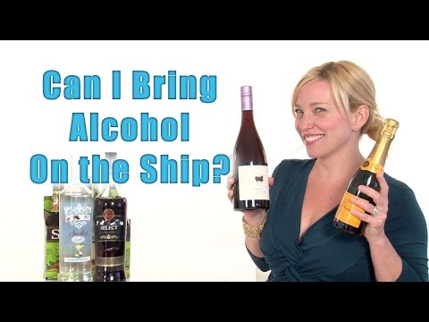 Can i bring alcohol on the ship? - cruise tips tv