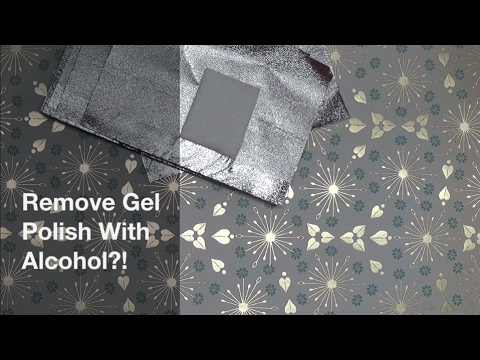 Remove gel polish with alcohol?! | one-step gel polish pen update