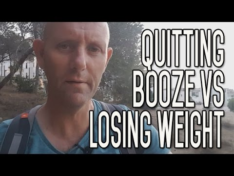 Comparing quitting drinking booze with losing weight   which is harder?