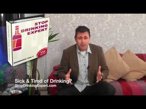Stop drinking expert: sick & tired of drinking?
