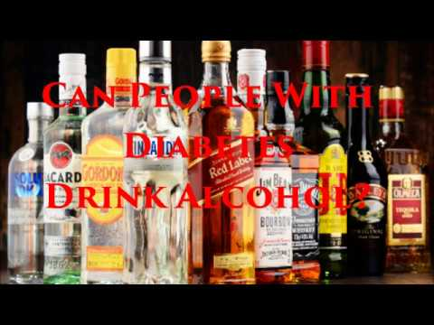 Can people with diabetes drink alcohol?   diabetic recipes and diabetes health