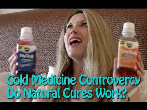 Cure for the common cold: nyquil and dayquil vs natural bogus claims