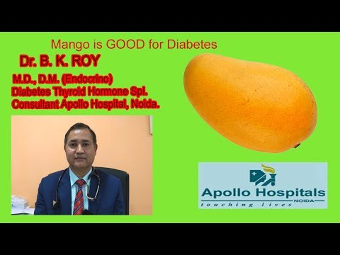 Can mango grapes be taken in diabetes is it safe to eat or not dr b k roy how much can be taken
