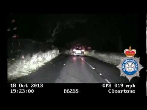 Police video shows dangers of drink driving