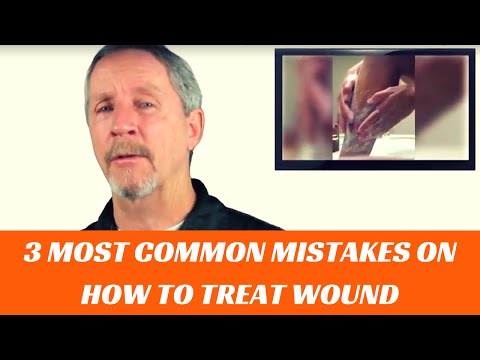How to clean and care for a wound | first-aid training