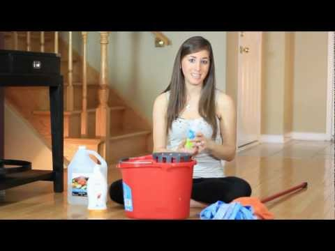 Hardwood floors - cleaning with rubbing alcohol (easy household cleaning ideas) clean my space