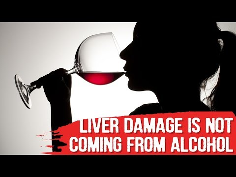 Liver damage from alcohol is not coming from alcohol - dr.berg