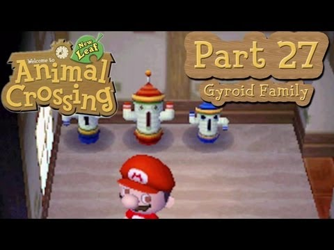 Animal crossing: new leaf - part 27: completing a gyroid family!