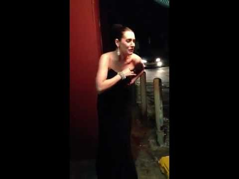 Paget brewster behind the scene of the thrilling adventure hour