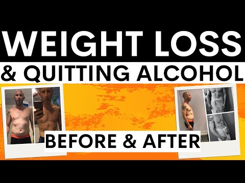 Quitting alcohol & weight loss - simon chapple talks about drinking and losing weight