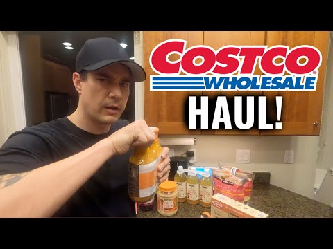 Our first costco haul! | how much we spent | shopping in alaska