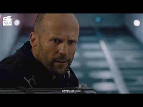 The fate of the furious: shaw infiltrate the plane hd clip