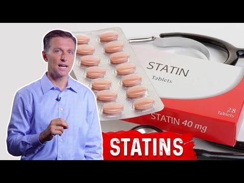 Statins: side effects & alternative ways to lower cholesterol by dr.berg